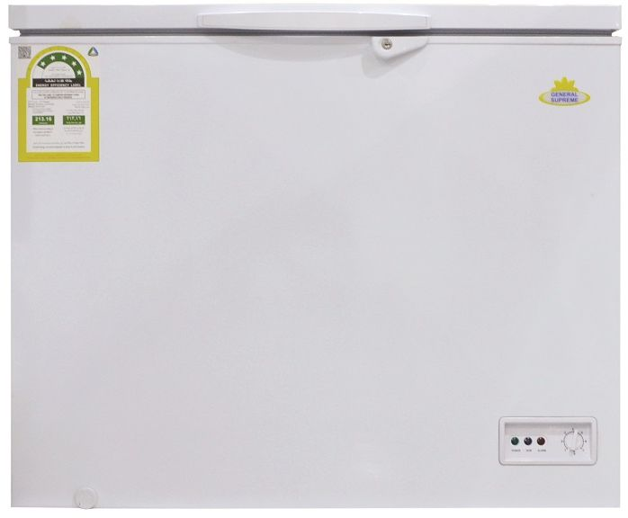 General Supreme Chest Freezer, 190L, 6.70cft - GSHF252