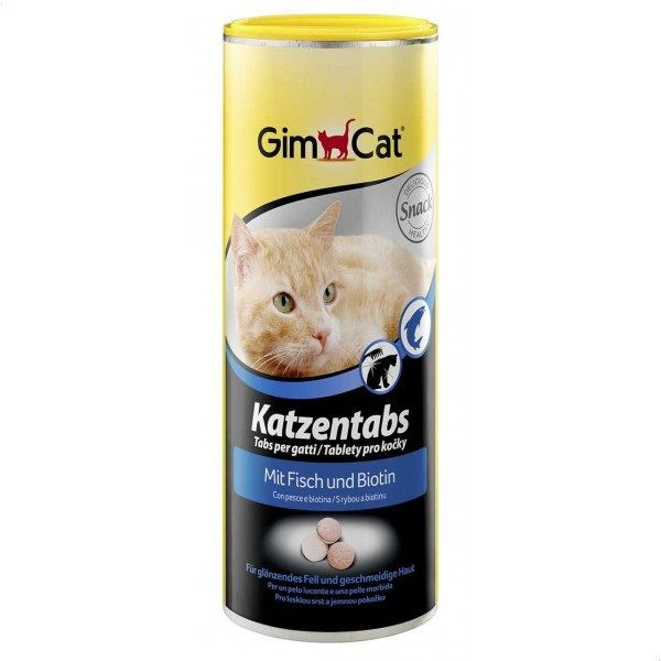 GimCat Cat Tabs With Fish, 425 gm