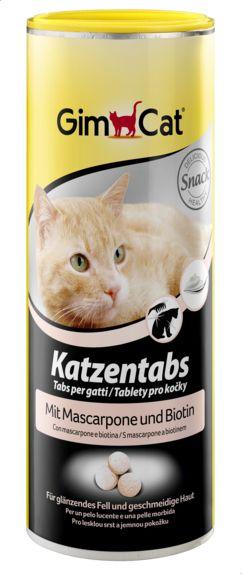 GimCat Cat Tabs With Mascarpone And Biotine, 425 gm