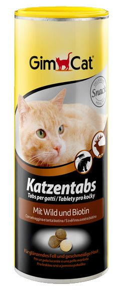 GimCat Cat Tabs With Venison And Biotin, 425 gm