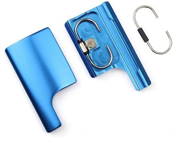 GoPro CNC Aluminum Snap Latch Back Door Clip Lock Buckle for GoPro Hero 3 3 Plus Hero 4 Housing Case