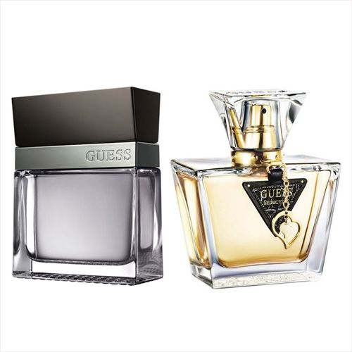 Guess Seductive Set of 2 (100ML EDT for Him, 75 ML for Her)