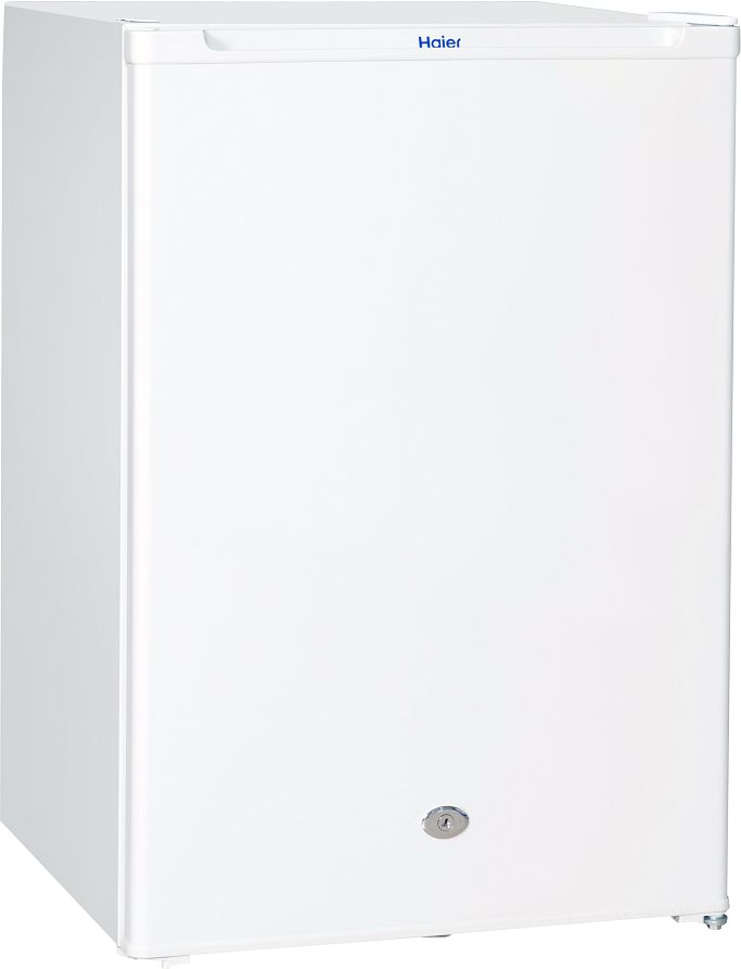 Haier Single door refrigerator Capacity 76 Liters, 2.7 CuFt, White Refrigerator, One Door