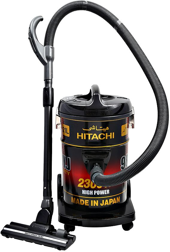 Hitachi 2300 Watts Can Type Y Series Vacuum Cleaner, Black - CV9800YJ240BR