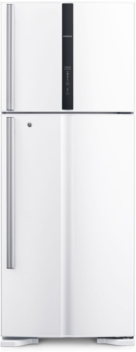 Hitachi 450 Liters Double Door Refrigerator - White - R-V600PS3K TWH