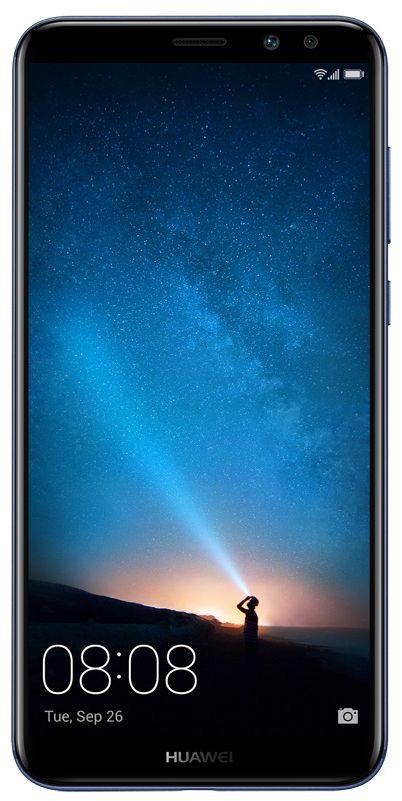 Huawei Mate 10 Lite Dual Sim - 64 GB, 4 GB Ram, 4G LTE, Blue, Rhone-L21