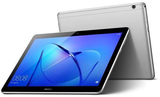 Huawei MediaPad T3 Tablet - 10 Inch, 16GB, 2GB RAM, 4G LTE, Space Grey