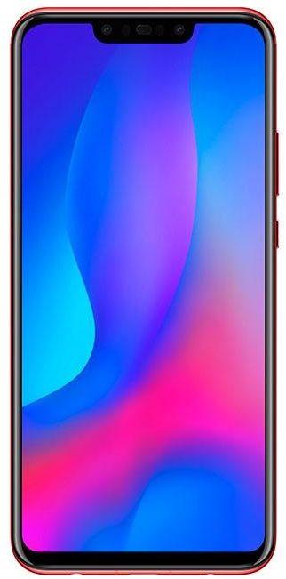 Huawei Nova 3 Dual SIM - 128GB, 4GB RAM, 4G LTE, Red