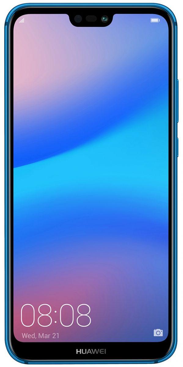 Huawei Nova 3E Dual Sim - 64 GB, 4 GB Ram, 4G LTE, Klein Blue