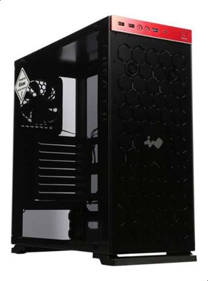 In Win 805 Aluminum Tempered Glass ATX Case - INWC-805-Red