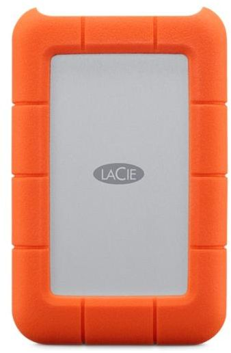 LaCie 2TB Rugged USB-C Armor For Your Data External Mobile Hard Drive for Mac or PC - STFR2000400