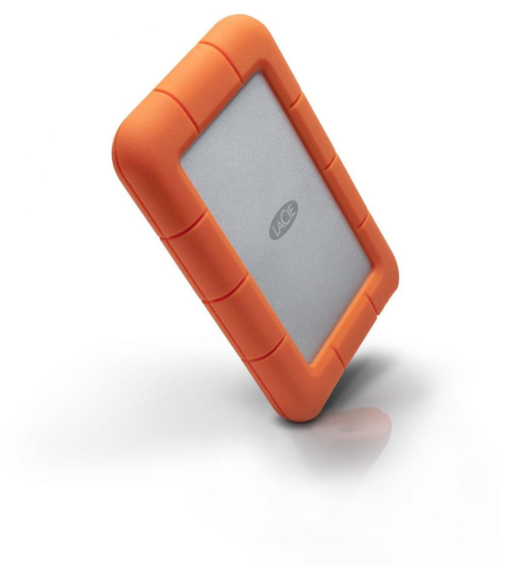 LaCie Rugged Mini USB 3.0 / USB 2.0 2TB External Hard Drive