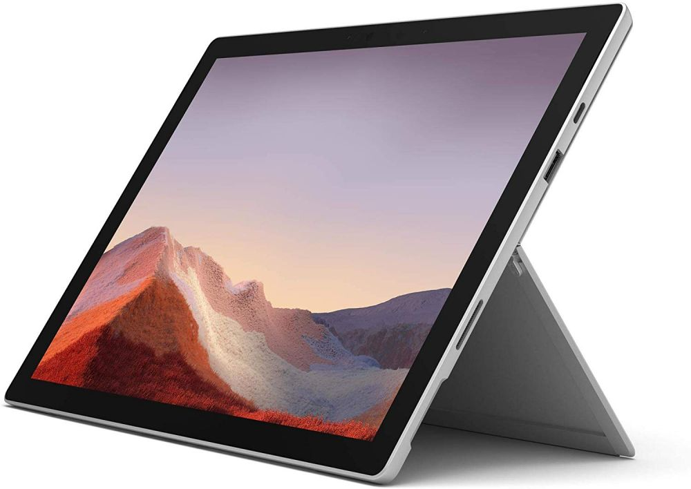 Microsoft Surface Pro 7 Tablet - 12.3 Inch, 10th Gen Intel Core i5, 8 GB Memory, 128 GB SSD, Platinum
