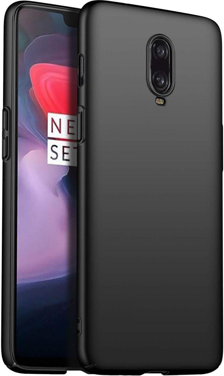 MOFI OnePlus 6T Case, Hard Thin PC, Black
