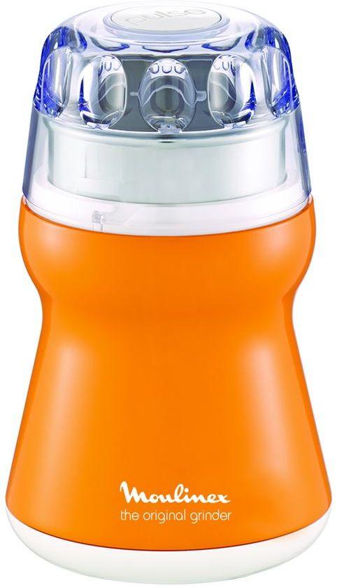 Moulinex Coffee Grinder 180W 220V- AR110O27, Orange, Plastic