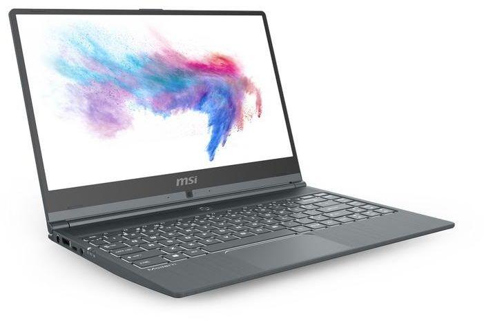 MSI Modern 14 A10RB Laptop - Intel Core i7 - 10th Generation, 14 Inch, 512GB SSD, 16 GB DDR4 RAM, Nvidia Ge-Force MX250 GDDR5 2GB, Single backlight keyboard, Windows 10, Grey