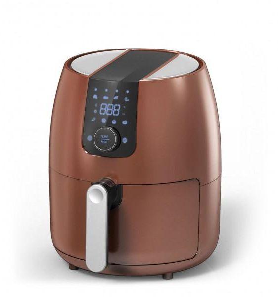Ocarina, Digital Frying without oil, 3.5 Liter, 1500 Watt, Brown