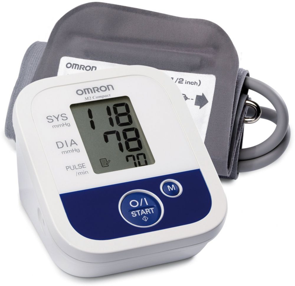 Omron automatic blood pressure monitor M2
