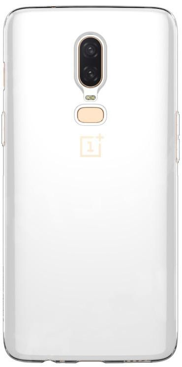 oneplus 6t Case Cover , Soft TPU , Clear