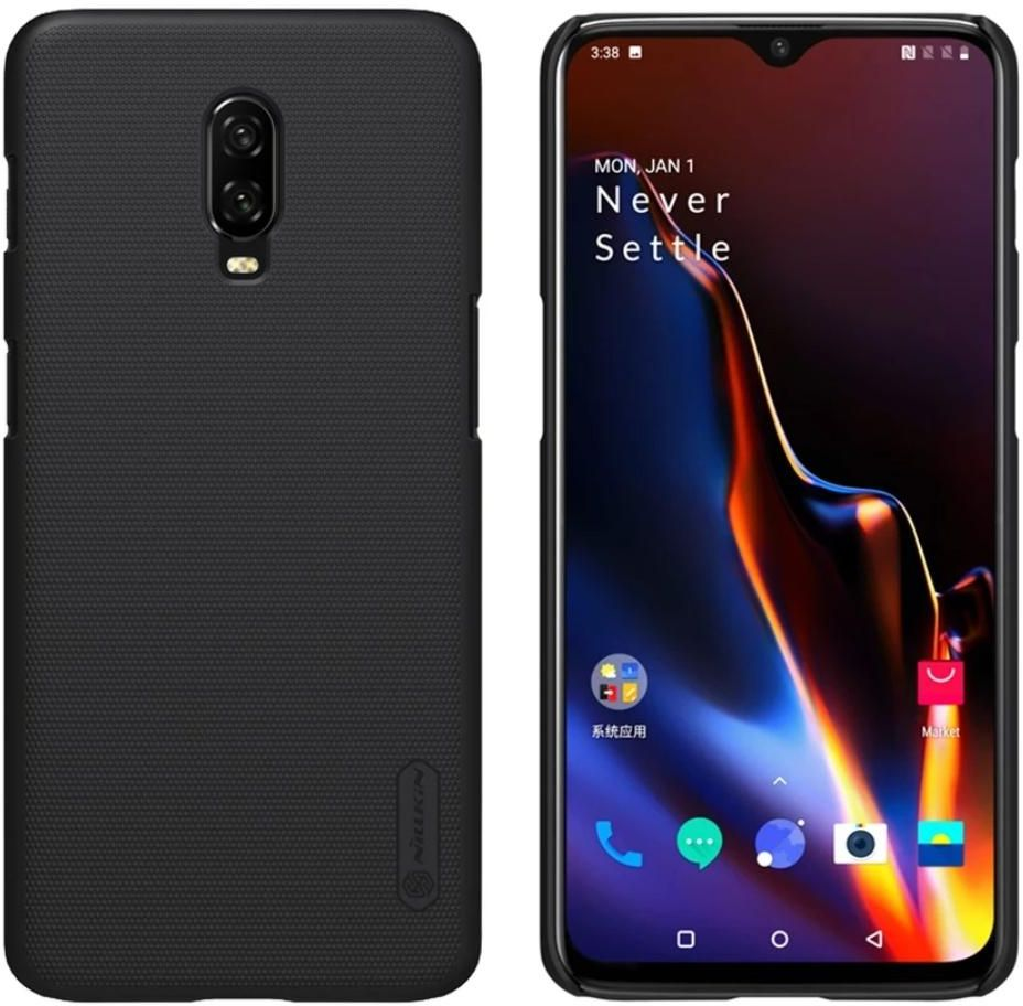 oneplus 6T, Case Cover Super Frosted Shield Matte,NILLKIN