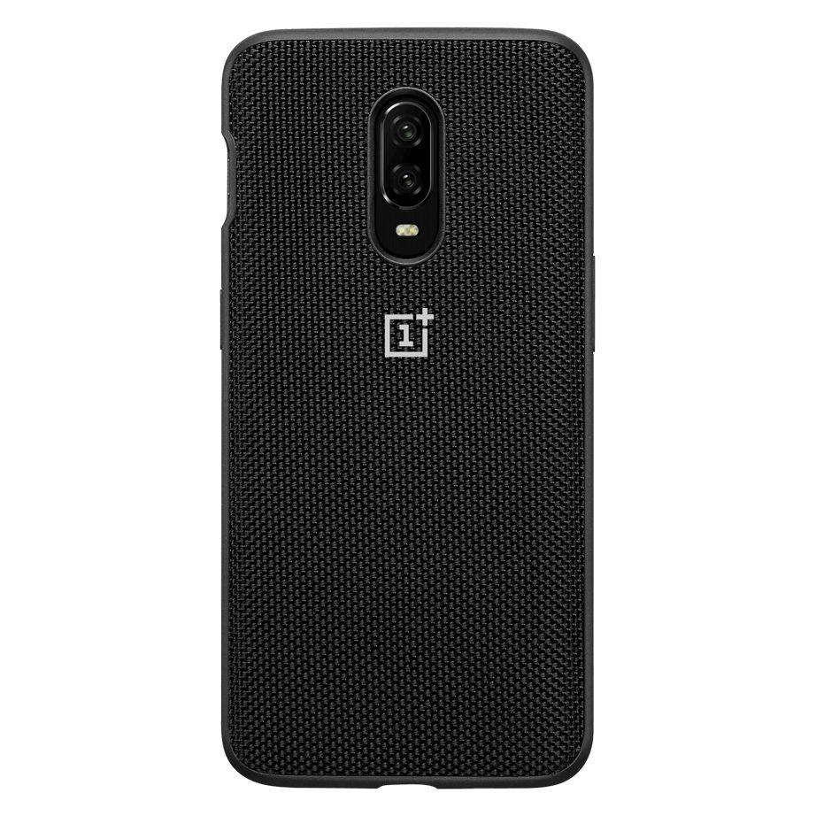 OnePlus 6T Nylon Bumper Case - Black