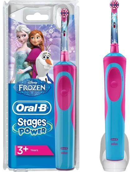 Oral-B Stages Power Kids Rechargeable Electric Toothbrush - Frozen with Disney Magic Timer app