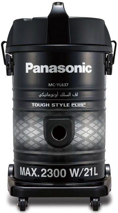 Panasonic MC-YL637S747 Electric Vacuum Cleaner , 2300W , Black