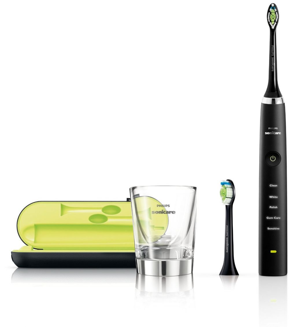 Philips Sonicare DiamondClean Sonic Electric Toothbrush - Black, HX 9352/04