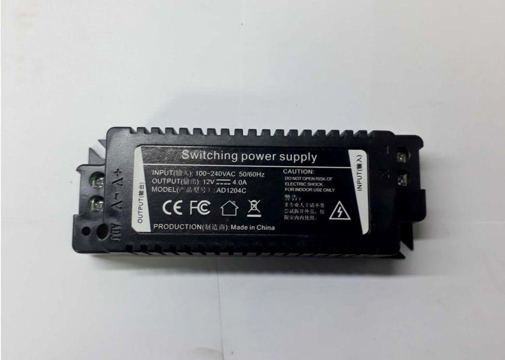 POWER SUPPLY-Model-UV-AD1204C-INPUT100-240VAC-OUTPUT-12V-4A