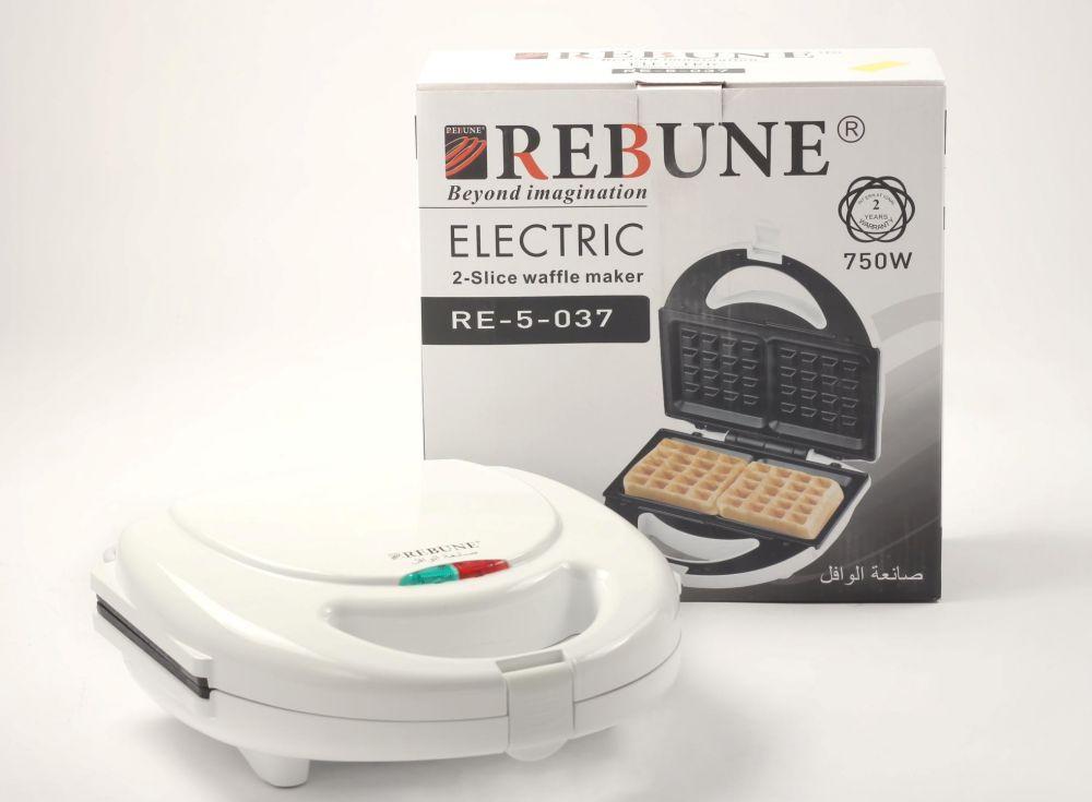 Rebune Waffle Maker 750 Watts, RE-5-037