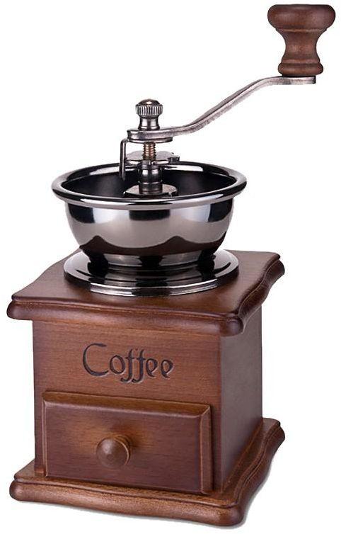 Retro Design Coffee Bean Hand Coffee Grinder Machine Manual Mini Mill Home Office Use