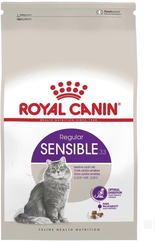 Royal canin sensible 33 cat food , 15 kg