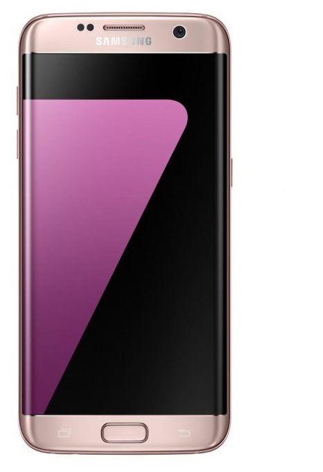 Samsung Galaxy S7 Edge Dual Sim - 32GB, 4GB RAM, 4G LTE, Pink Gold