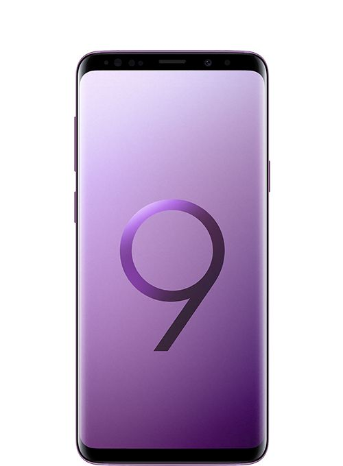 Samsung Galaxy S9+ Dual Sim - 128 GB, 6 GB Ram, 4G LTE, Lilac Purple - Middle East Version, Sm-G965Fzpgksa