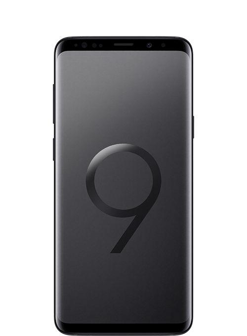Samsung Galaxy S9+ Dual Sim - 128 GB, 6 GB Ram, 4G LTE, Midnight Black - Middle East Version, Sm-G965Fzkgksa