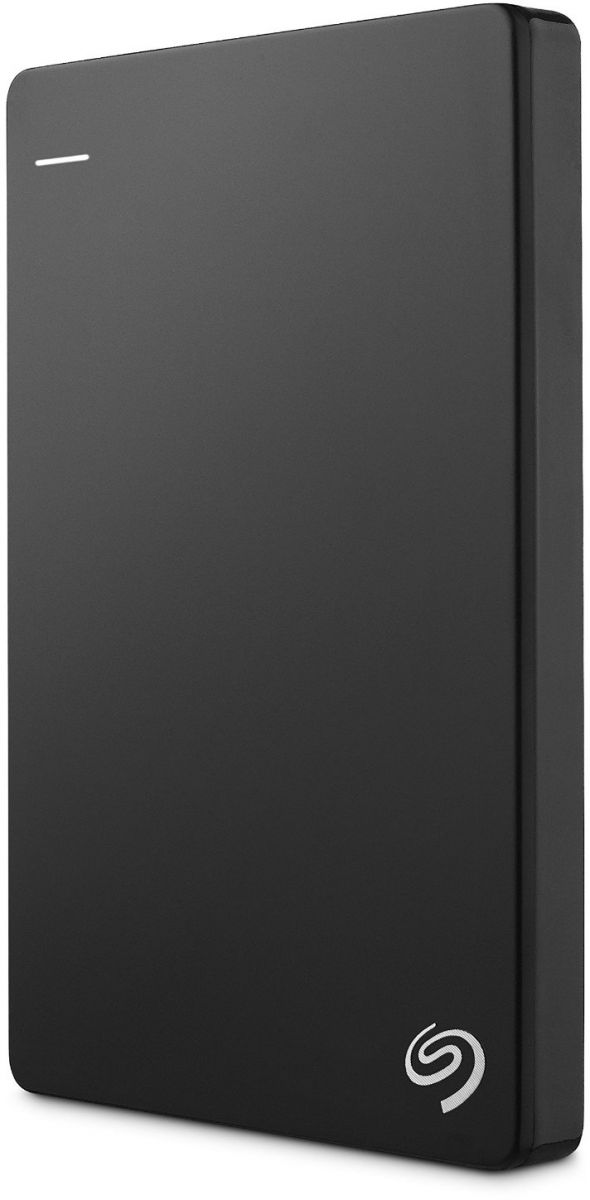 Seagate 2 TB Backup Plus USB 3.0 Slim Portable Hard Drive - Black [STDR2000200]