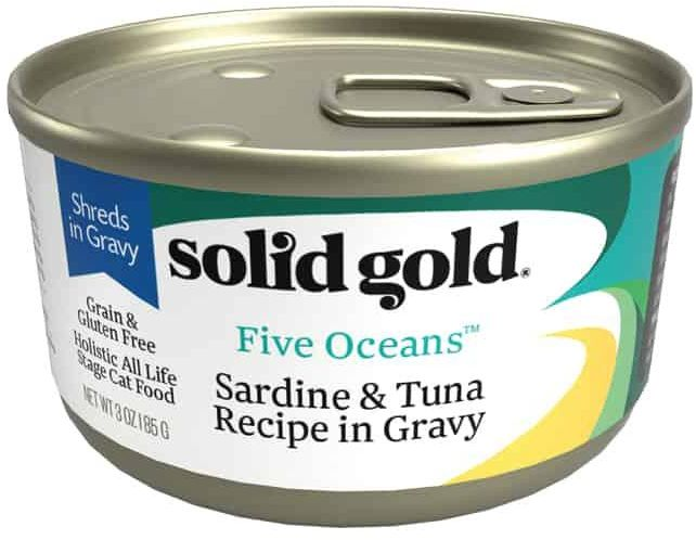 Solid Gold - Five Oceans Sardine In Gravy Gf Can 170 G X16 Cans