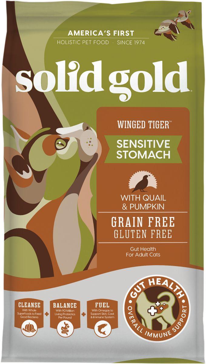 Solid Gold - Winged Tiger Quail & Pumpkin Gf 1.3 Kg