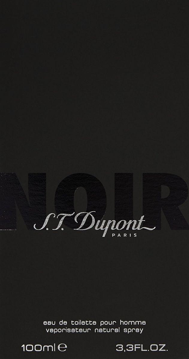 S.T Dupont Noir for Men -Eau de Toilette, 100 ml-
