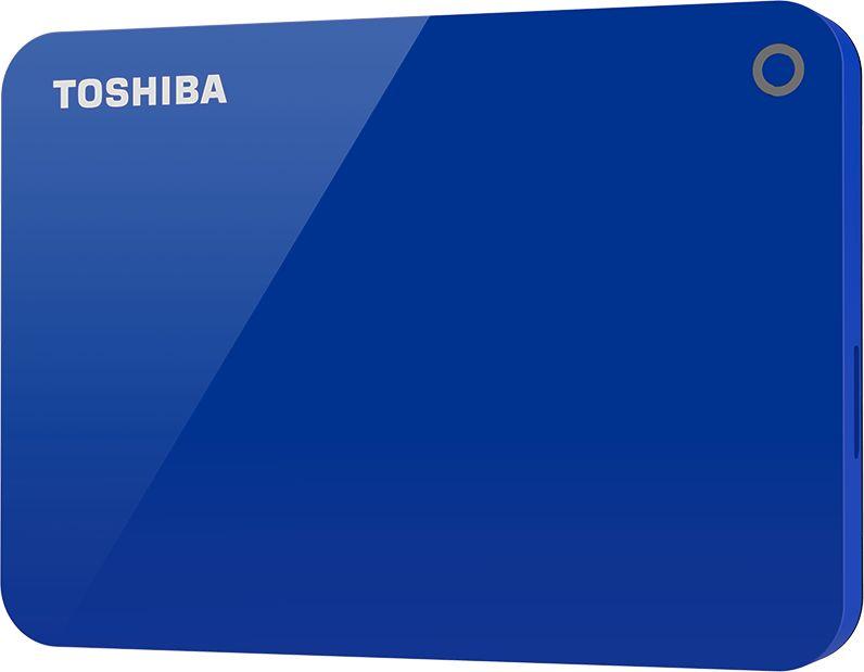 Toshiba 1TB Canvio Advance Portable USB3.0 Hard Drive Blue -HDTC910EL3AA