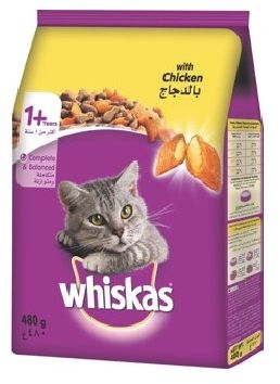 Whiskas Chicken Cat Food - 480g