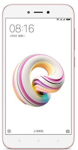 XiaomiRedmi 5A Dual SIM - 16GB, 2GB RAM, 4G LTE, Rose Gold - International Version