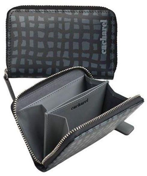 Zip Around Wallets For Women by Cacharel , Black, CLC207